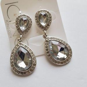 ⬇️🔥SALE🔥5/$20 Tear drop earrings crystal